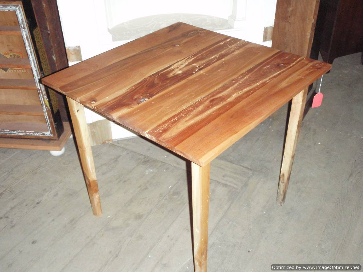 Tall cherry table