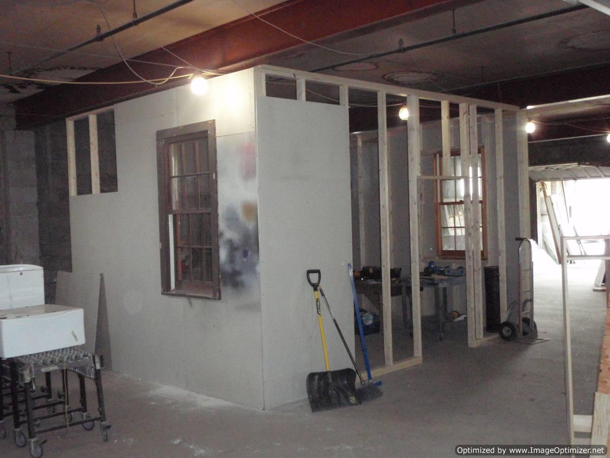 Scott's new work shop