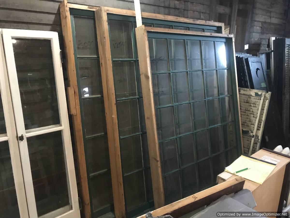 Windows in frame