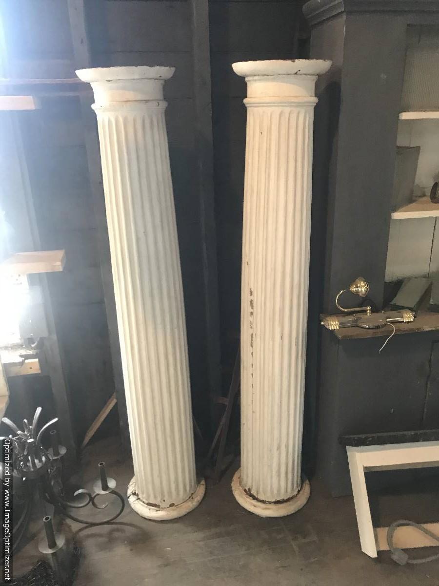 Pair of columns