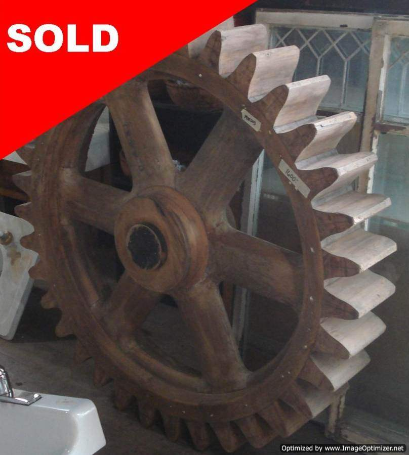 Wooden Gear Mold